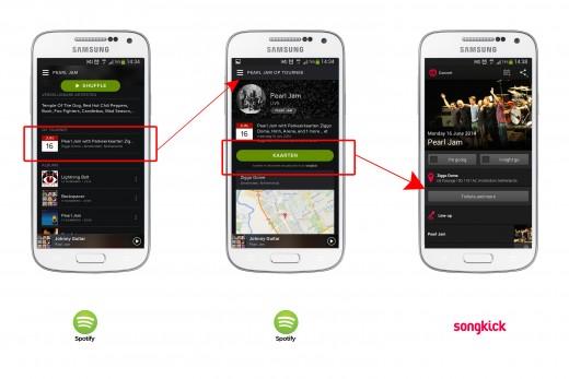 app links - afbeelding - spotify
