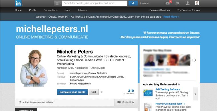 Zo voeg je een LinkedIn headerfoto toe aan je profiel