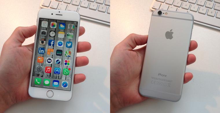 Yes! Mijn iPhone 6!