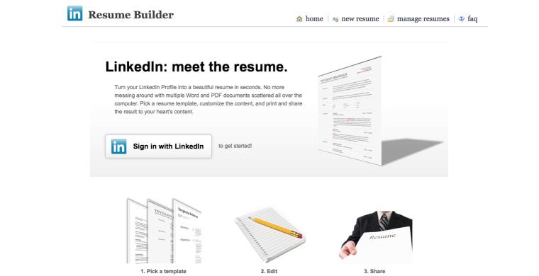 Tip: maak van je LinkedIn profiel een cv!