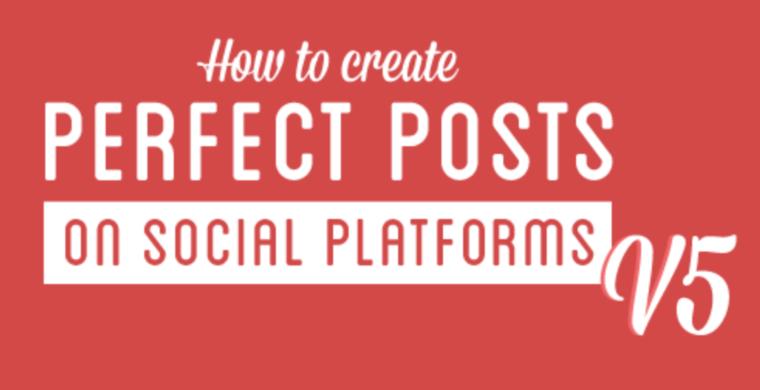 Tips voor perfecte social media berichten