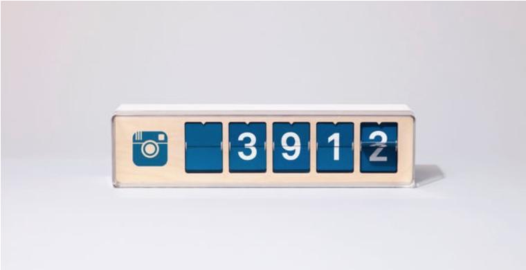 Gadget alert:  tastbare social media teller
