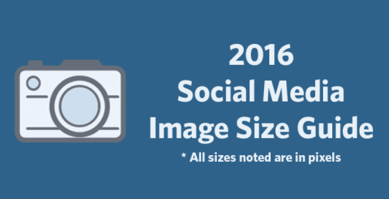 Social media cheat sheet 2016