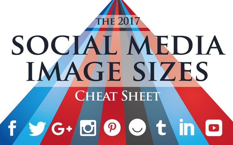 Social media cheat sheet 2017 editie